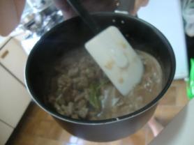 Preparando a carne...