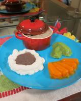 Arroz, feijão e carne de panela!